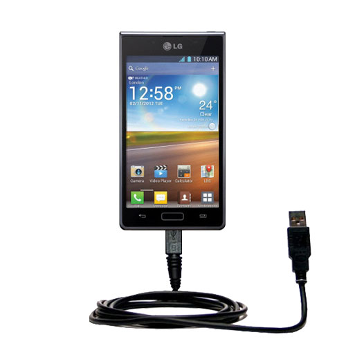 USB Cable compatible with the LG Optimus L7