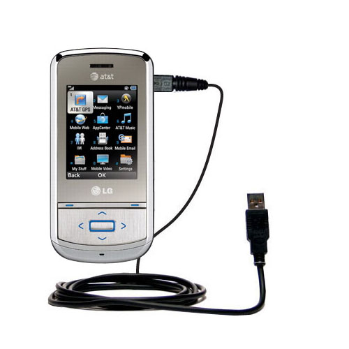 USB Cable compatible with the LG Shine II GD710