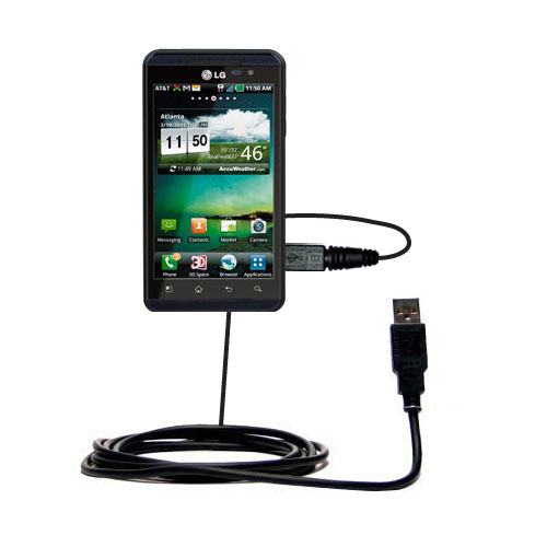 USB Cable compatible with the LG Thrill 4G