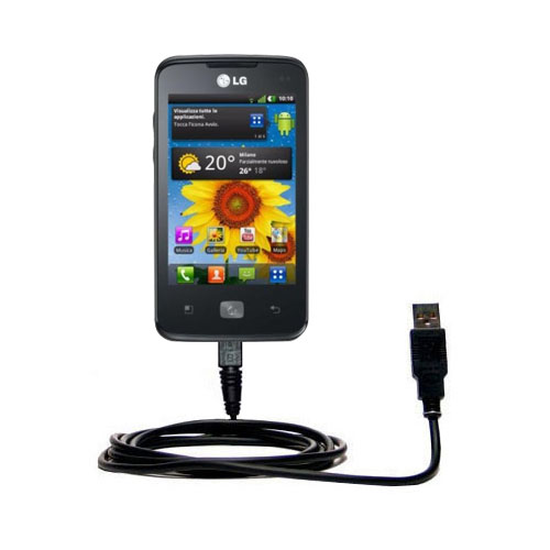 USB Cable compatible with the LG Univa