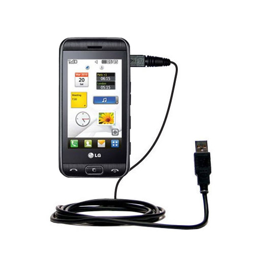 USB Cable compatible with the LG Viewty Smile