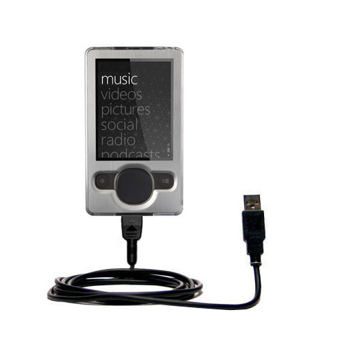 USB Cable compatible with the Microsoft Zune (2nd and Latest Generation)