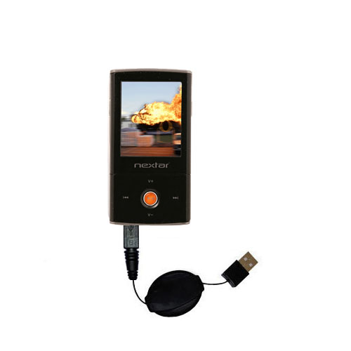 Retractable USB Power Port Ready charger cable designed for the Nextar MA791 MA794 MA797 and uses TipExchange