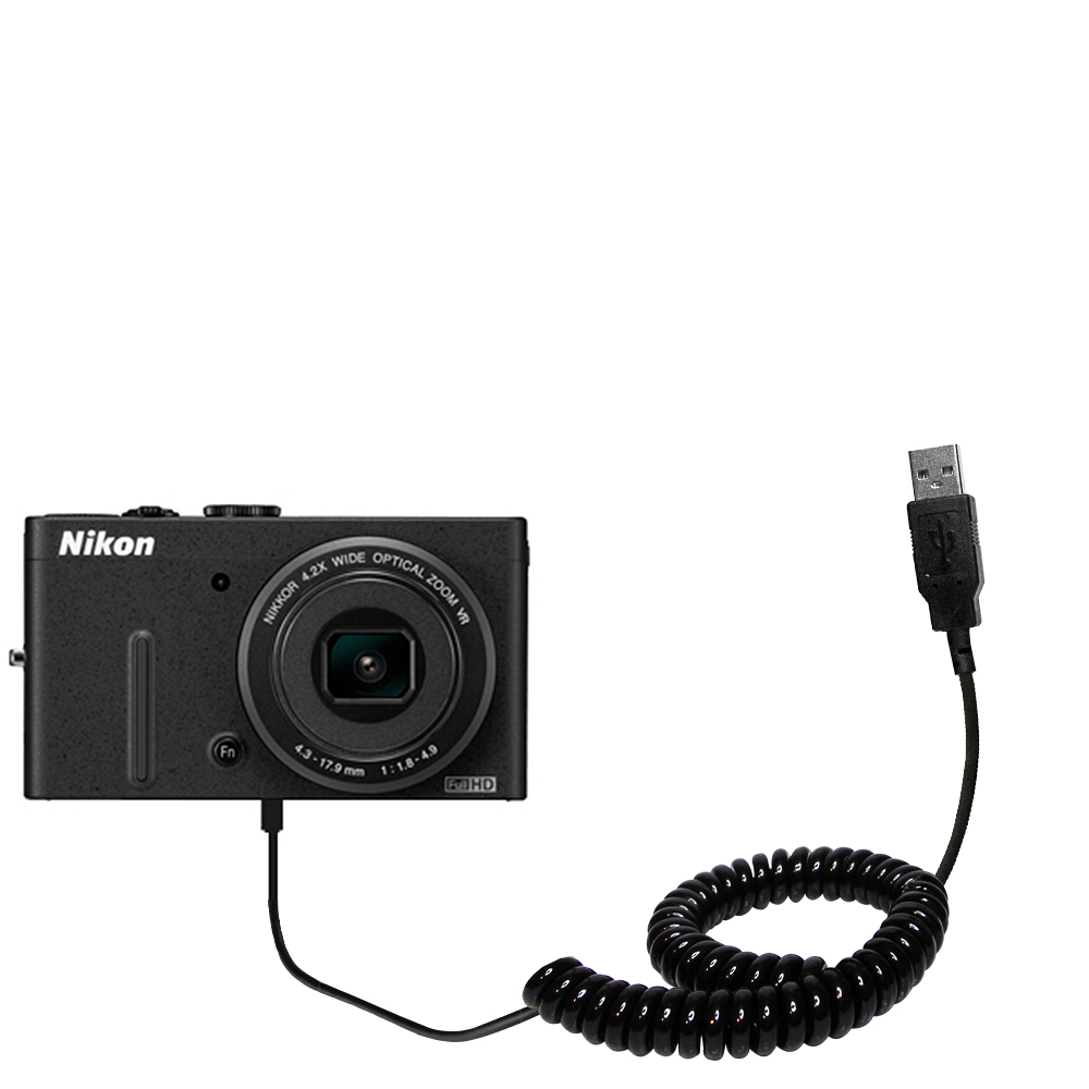 High Output Power with a Convenient and Foldable Plug Design Unique Gomadic 4-Port Intelligent Compact AC Home Wall Charger Suitable for The Nikon Coolpix P310 Uses TipExchange Technology