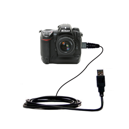 USB Data Cable compatible with the Nikon D2H