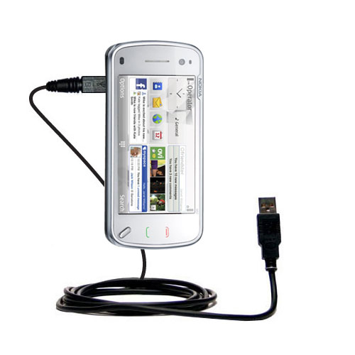 USB Cable compatible with the Nokia N97 Mini
