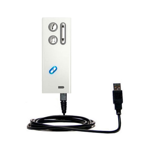 USB Cable compatible with the Oticon Streamer