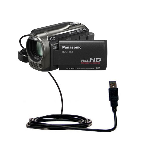 USB Cable compatible with the Panasonic HDC-HS60 Video Camera
