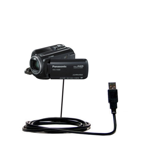 USB Cable compatible with the Panasonic HDC-HS80 Camcorder