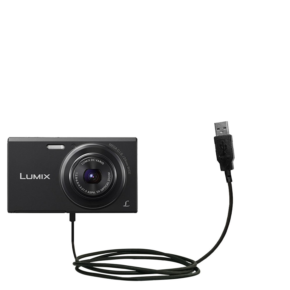 USB Cable compatible with the Panasonic Lumix DMC-FH10V
