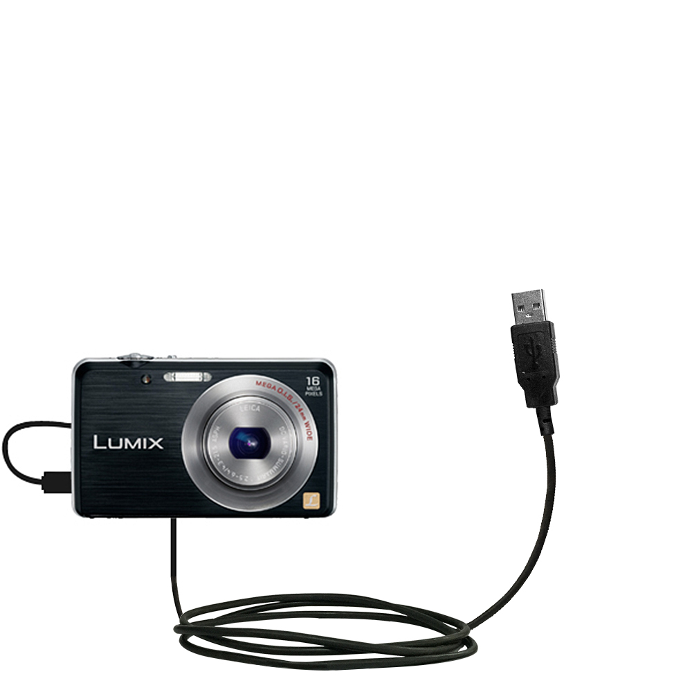 USB Cable compatible with the Panasonic Lumix DMC-FH8K