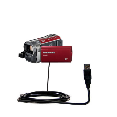 USB Cable compatible with the Panasonic SDR-570 Camcorder