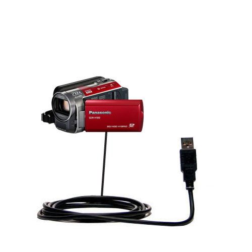 USB Cable compatible with the Panasonic SDR-H100 Camcorder