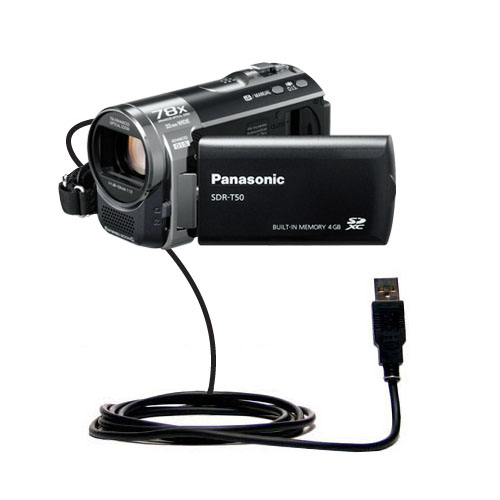 USB Cable compatible with the Panasonic SDR-T50 Video Camera