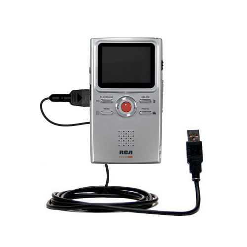 USB Cable compatible with the RCA EZ409HD Small Wonder Digital Camcorders