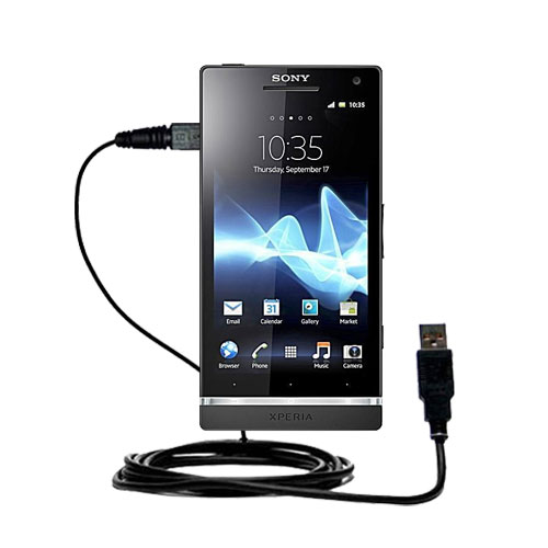 USB Cable compatible with the Sony Ericsson Xperia S