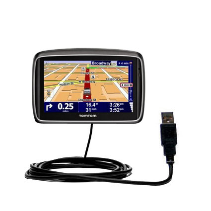 USB Cable compatible with the TomTom 740