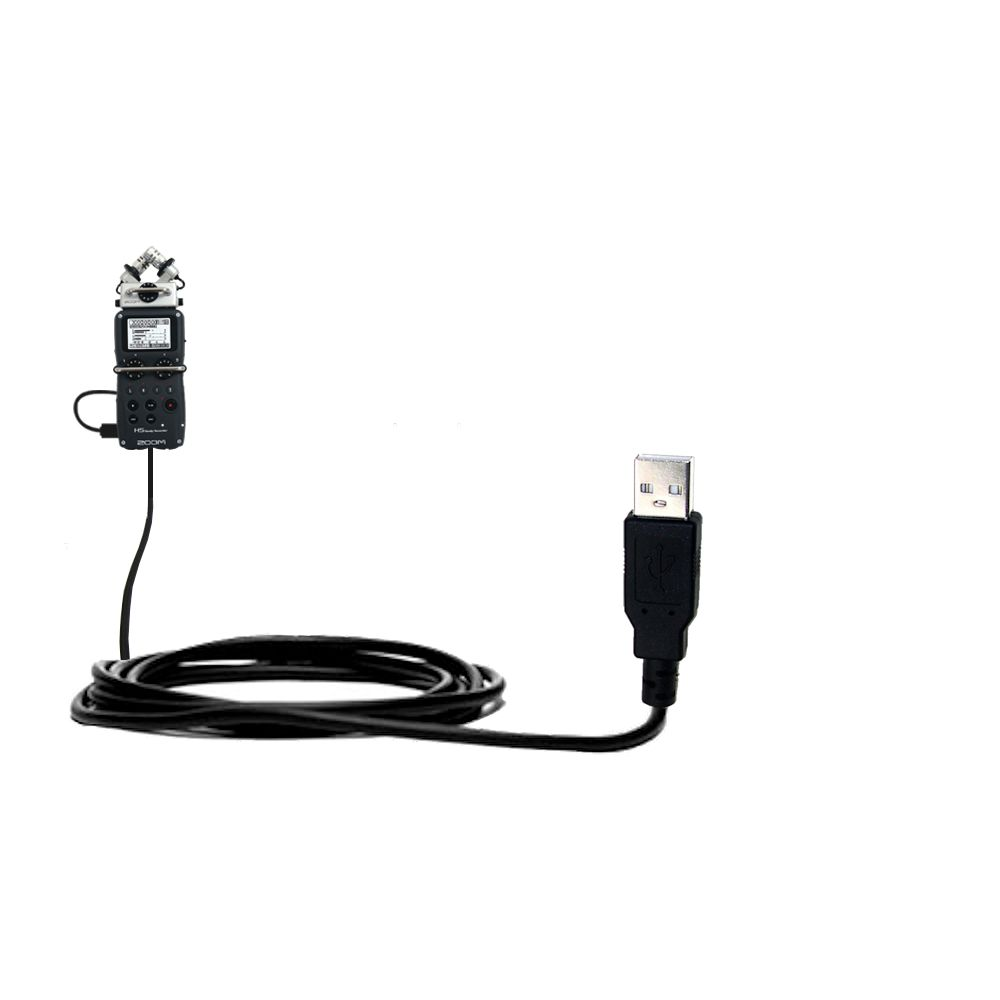 USB Cable compatible with the Zoom H5 Handy Recorder