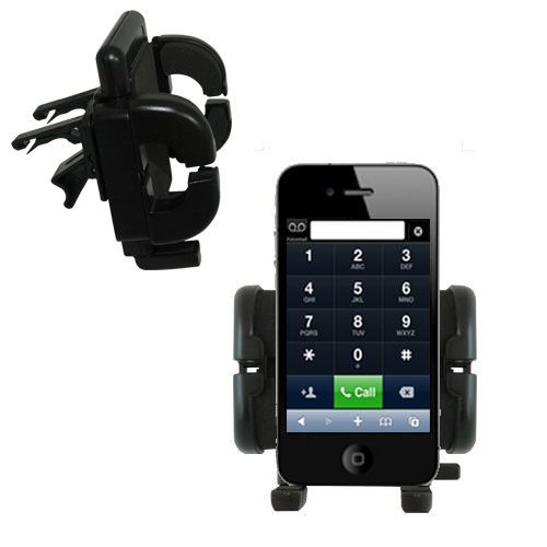 Vent Swivel Car Auto Holder Mount compatible with the Apple iPhone 4