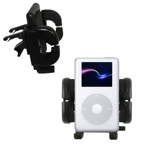 Vent Swivel Car Auto Holder Mount compatible with the Apple iPod 4G (20GB)