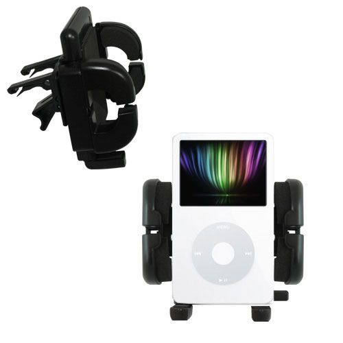 Vent Swivel Car Auto Holder Mount compatible with the Apple iPod 5G Video (30GB)