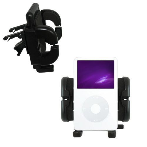 Vent Swivel Car Auto Holder Mount compatible with the Apple iPod 5G Video (60GB)