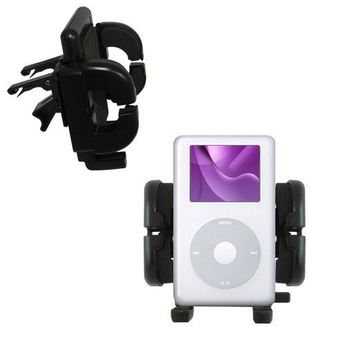 Vent Swivel Car Auto Holder Mount compatible with the Apple iPod Photo (30GB)