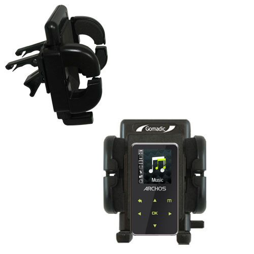 Vent Swivel Car Auto Holder Mount compatible with the Archos 15 15b Vision A15VS