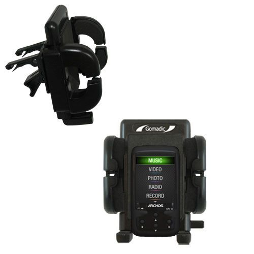 Vent Swivel Car Auto Holder Mount compatible with the Archos 24 Vision AV24VB