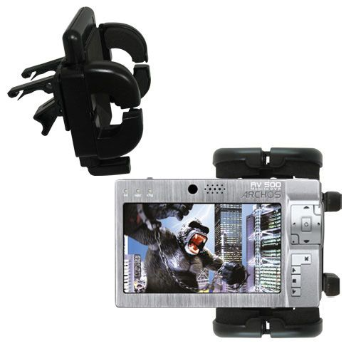 Vent Swivel Car Auto Holder Mount compatible with the Archos AV500 Series