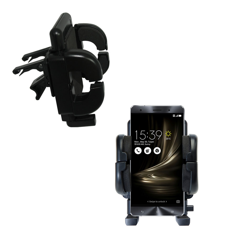 Vent Swivel Car Auto Holder Mount compatible with the Asus Zenfone 3