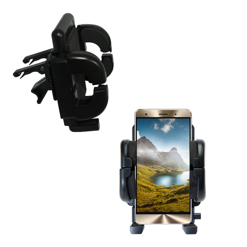 Vent Swivel Car Auto Holder Mount compatible with the Asus Zenfone 3 Deluxe