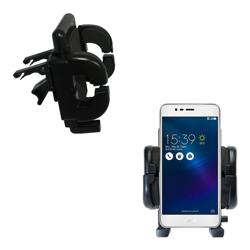 Vent Swivel Car Auto Holder Mount compatible with the Asus ZenFone 3 Max