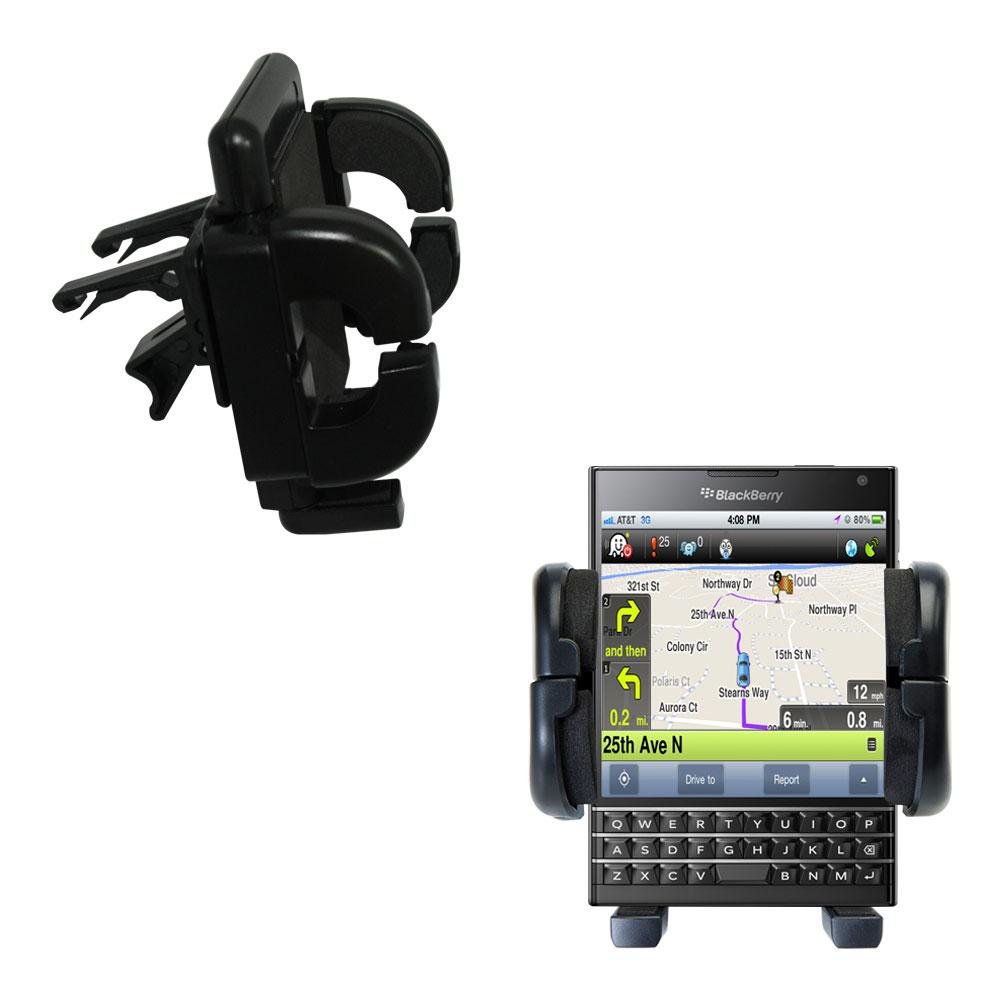Gomadic Air Vent Clip Based Cradle Holder Car / Auto Mount