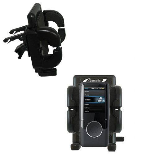 Vent Swivel Car Auto Holder Mount compatible with the Coby MP620 Video MP3 Player