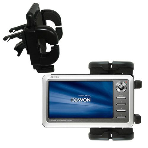 Vent Swivel Car Auto Holder Mount compatible with the Cowon iAudio A2 Portable Media Player