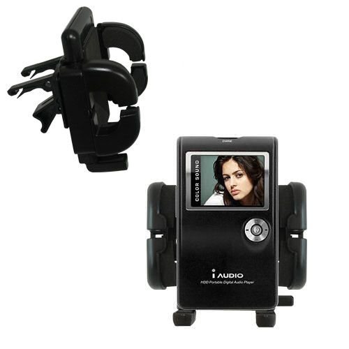 Vent Swivel Car Auto Holder Mount compatible with the Cowon iAudio X5