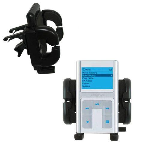 Vent Swivel Car Auto Holder Mount compatible with the Creative Zen Sleek Photo