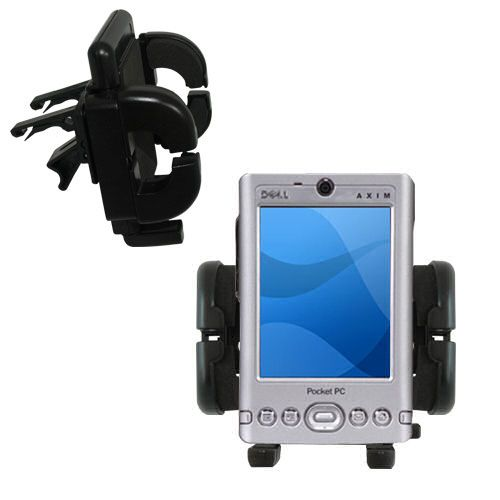 Vent Swivel Car Auto Holder Mount compatible with the Dell Axim x3 x3i