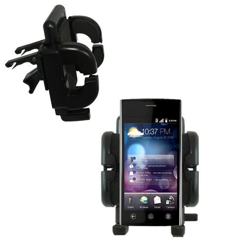 Vent Swivel Car Auto Holder Mount compatible with the Dell Lightening
