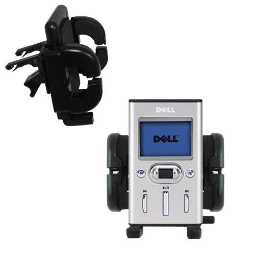 Vent Swivel Car Auto Holder Mount compatible with the Dell Pocket DJ 15GB
