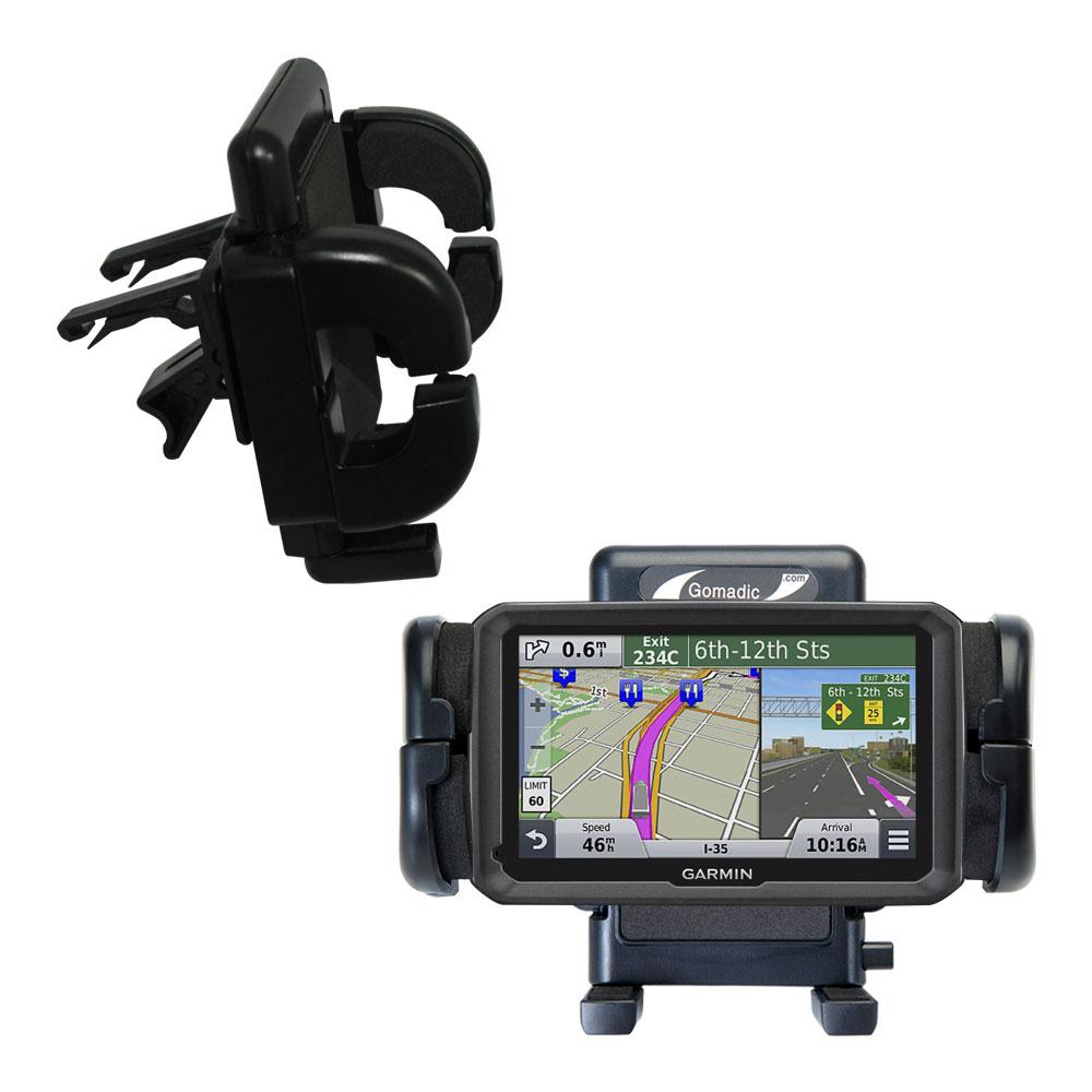 Vent Swivel Car Auto Holder Mount compatible with the Garmin dezl 570 LMT