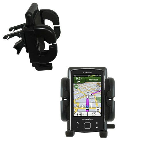 Vent Swivel Car Auto Holder Mount compatible with the Garmin Garminfone