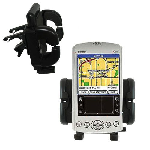 Vent Swivel Car Auto Holder Mount compatible with the Garmin iQue 3200