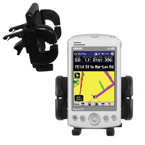 Vent Swivel Car Auto Holder Mount compatible with the Garmin iQue M5