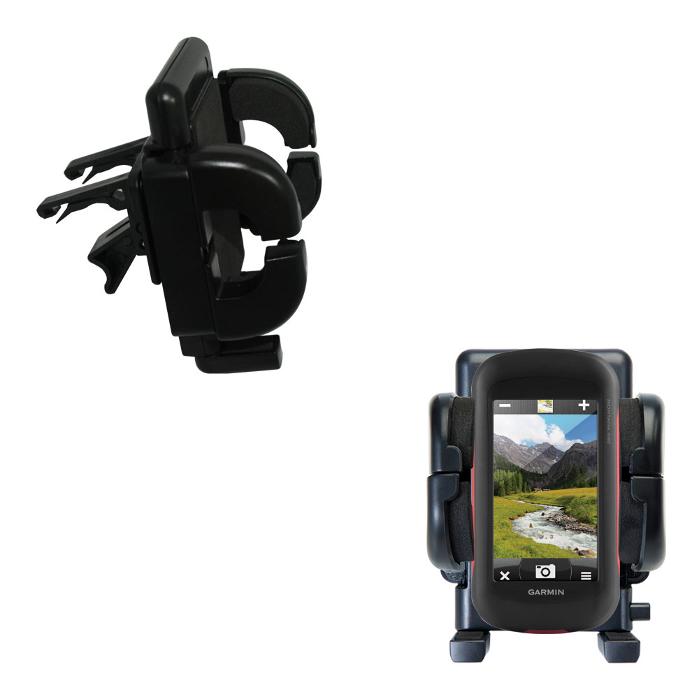 Vent Swivel Car Auto Holder Mount compatible with the Garmin Montana 680 / 680t