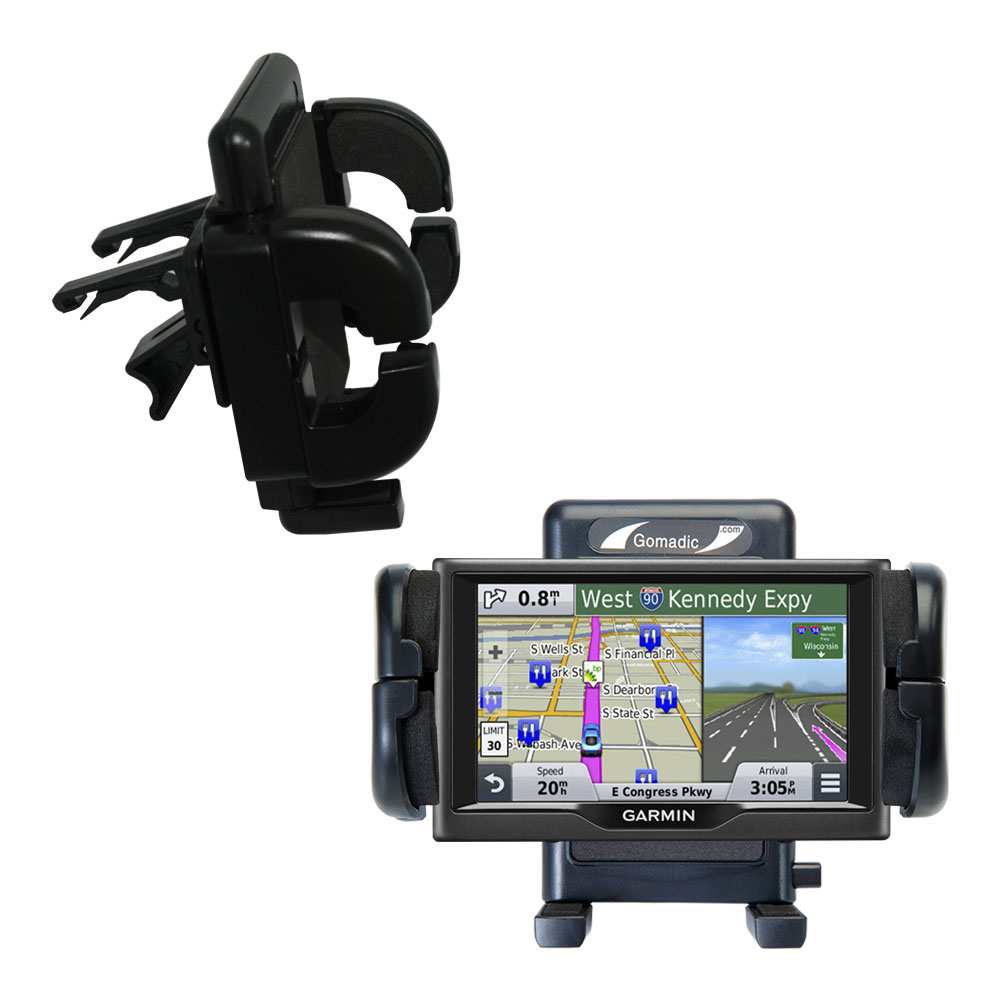 Vent Swivel Car Auto Holder Mount compatible with the Garmin nuvi 67 / 68 LM LMT