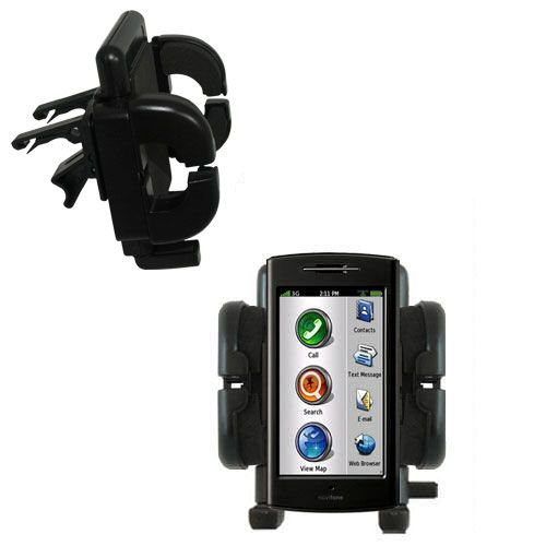 Vent Swivel Car Auto Holder Mount compatible with the Garmin Nuvifone G60