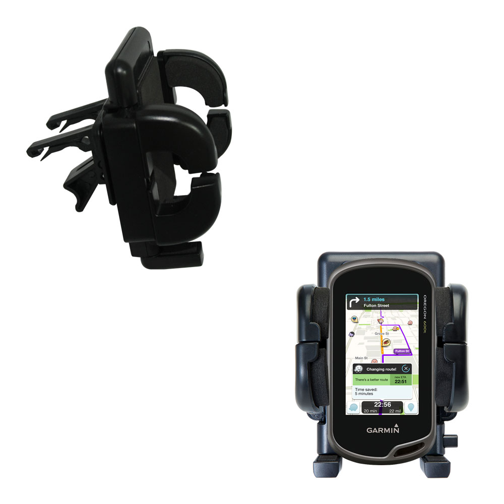 Vent Swivel Car Auto Holder Mount compatible with the Garmin Oregon 600 / 650 / 650t
