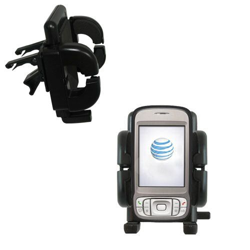 Vent Swivel Car Auto Holder Mount compatible with the HTC 3G UMTS PDA Phone